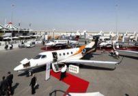 50 طائرة تشارك في معرض الطيران الخاص(ميبا) في دبي