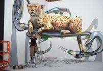 """رواد فن الرسم ثلاثي الأبعاد يشاركون في """"دبي كانْفَس"""" 2017"""