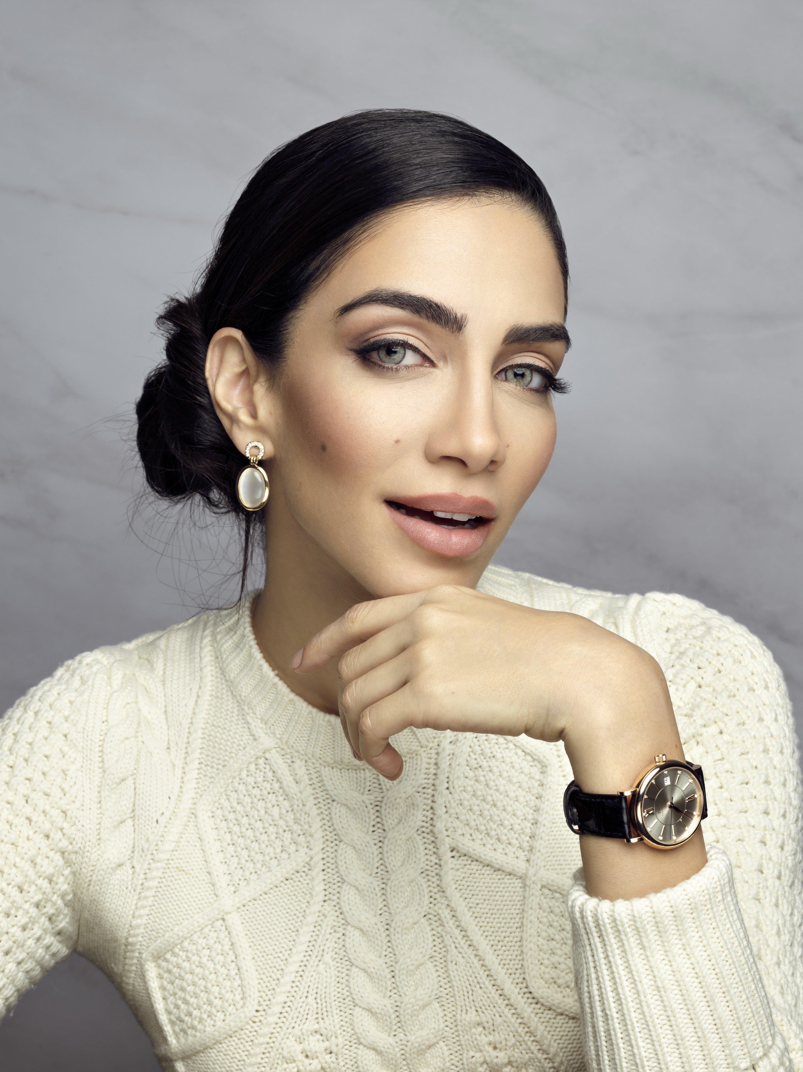 اللبنانية جيسيكا قهواتي سفيرة أي دبليو سي شافهاوزن
