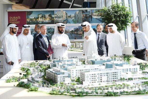 قريباً،اتمام أول مدينة ذكية متكاملة في دبي