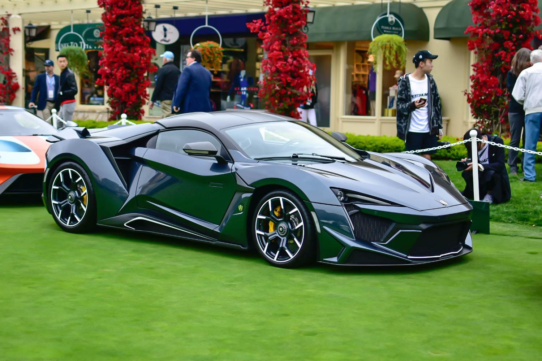 اصدار خاص من سيارة Fenyr SuperSport السرعة والقوة بلمسات ذهبية