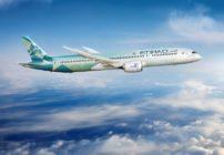 الاتحاد للطيران تسير رحلة بيئية وتعقد شراكة مع بوينغ لتقليل الانبعاثات الكربونية