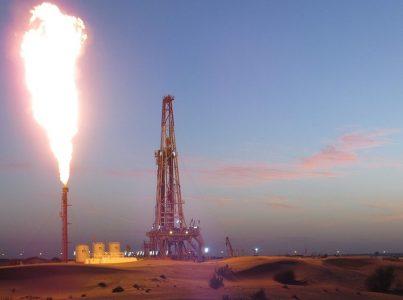 حقل غاز طبيعي جديد في إمارة الشارقة بدولة الإمارات العربية المتحدة