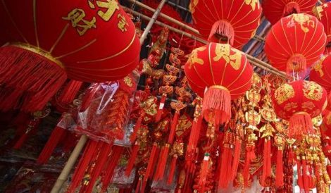 الاحتفال برأس السنة القمرية في الصين